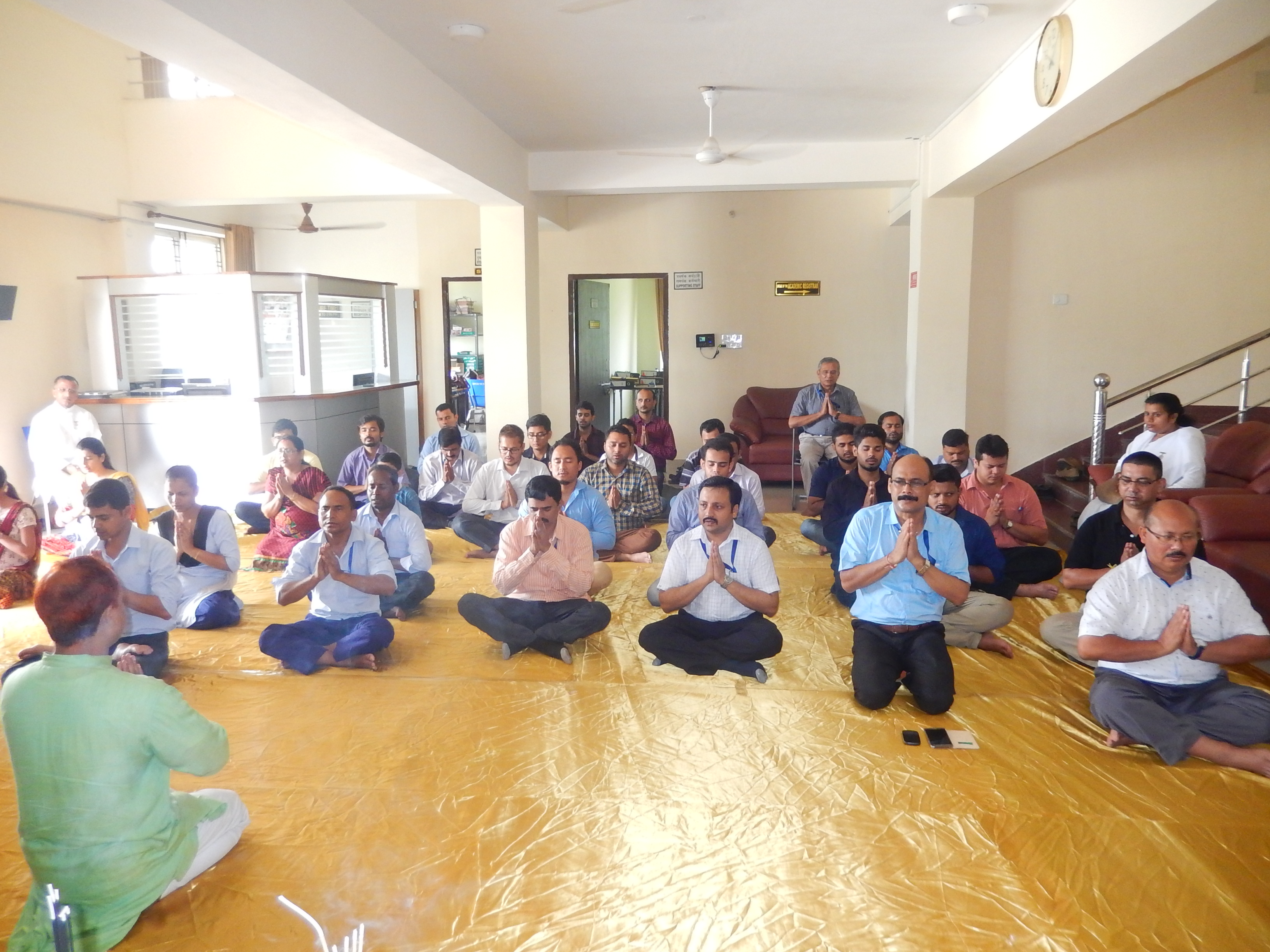 International Yoga Day - 21.06.2018