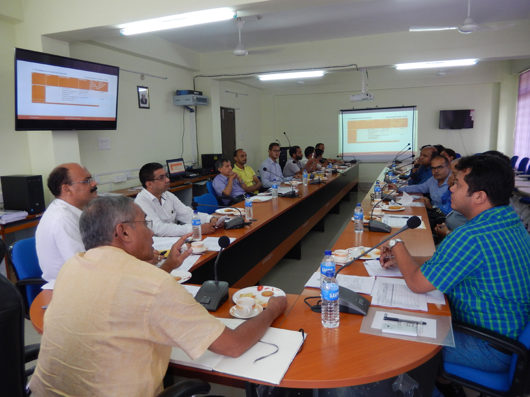 TEQIP-III meeting with the officials of the affiliated colleges of ASTU