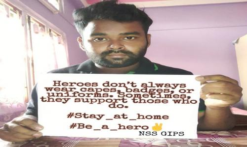 NSS Volunteer of GIPS, Guwahati, NSS unit of ASTU